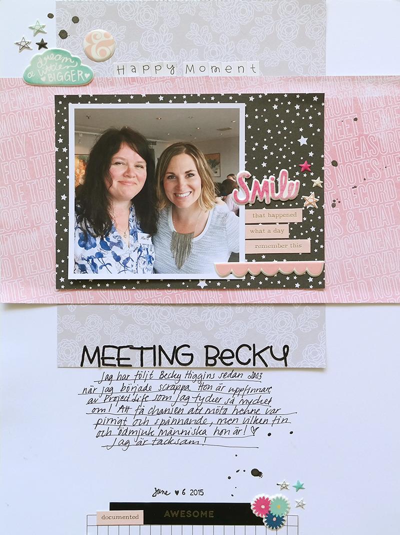 Meeting Becky