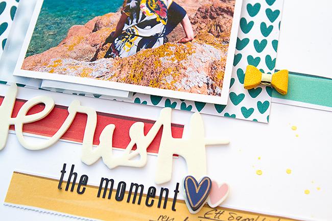 Alex Gadji - Cherish the moment - Amy Tangerine Hustle & Heart - detail 2