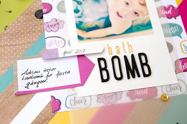 Alex Gadji - Bath Bomb - Shimelle Glitter Girl - Detail2