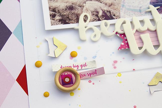 Alex Gadji - Beautiful Life - Shimelle Glitter Girl - Detail1