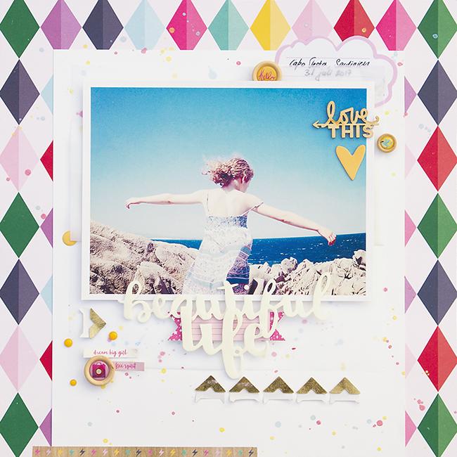 Alex Gadji - Beautiful Life - Shimelle Glitter Girl