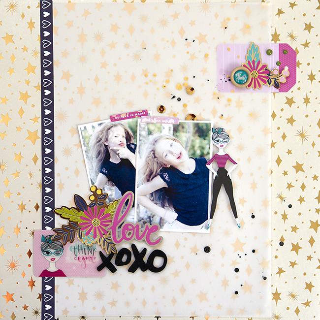 Alex Gadji - XoXo - Shimelle Glitter Girl