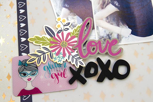 Alex Gadji - XoXo - Shimelle Glitter Girl -Detail1