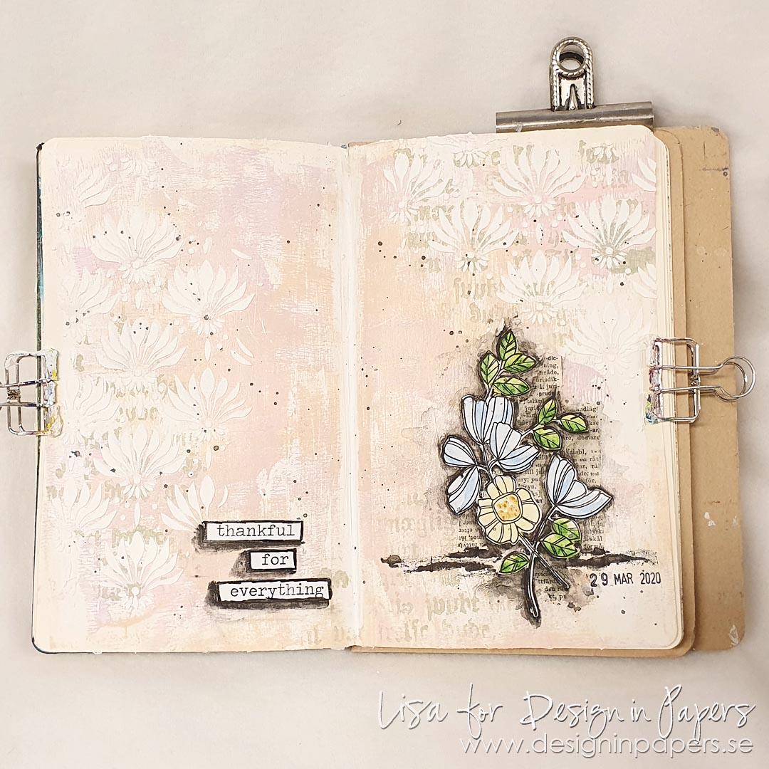Dina Wakley Journal 10x14.25 With Set 1 /& 2 Scribble Sticks.
